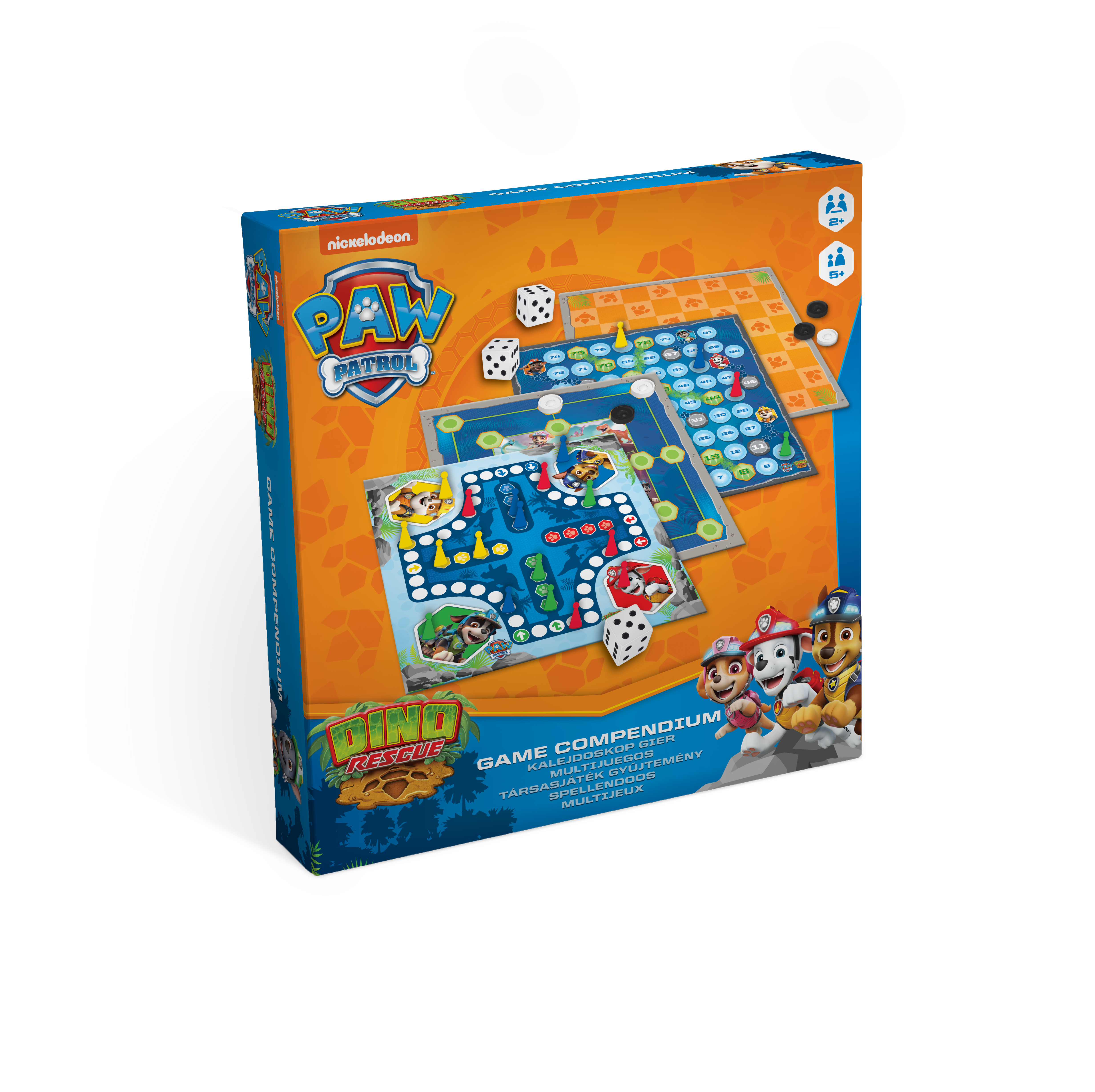 PAW PATROL CARD GAMES 3 IN 1 HAPPY FAMILIES CRAZY EIGHTS PAIRS SHUFFLE FUN PLAY